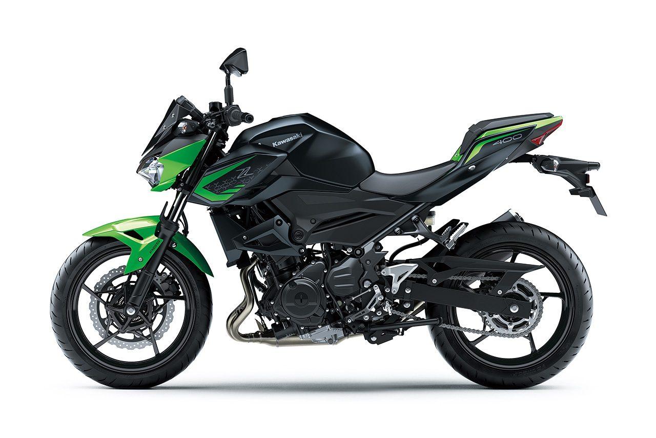 カワサキ、『Z250/Z400』のグラフィックを変更。2021年モデルは11月6日から発売開始