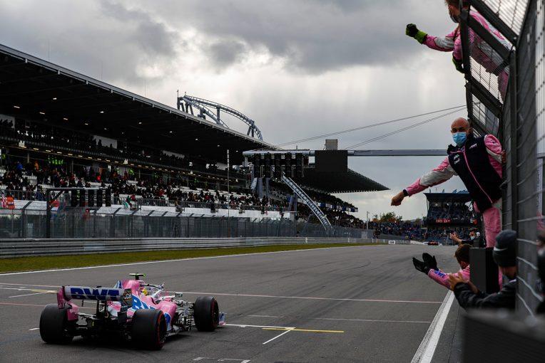 F1 | 【F1第11戦無線レビュー(2)】「結構タフだったよ」3度目の代役参戦でもチームに貢献したヒュルケンベルグ