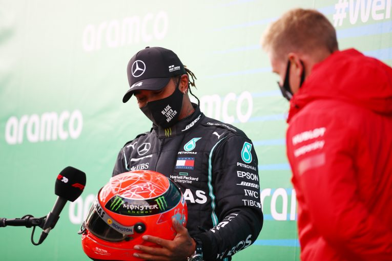 F1 | 「最多勝記録で史上ベストドライバーと判断すべきではない」と主張する元F1王者にハミルトンが皮肉