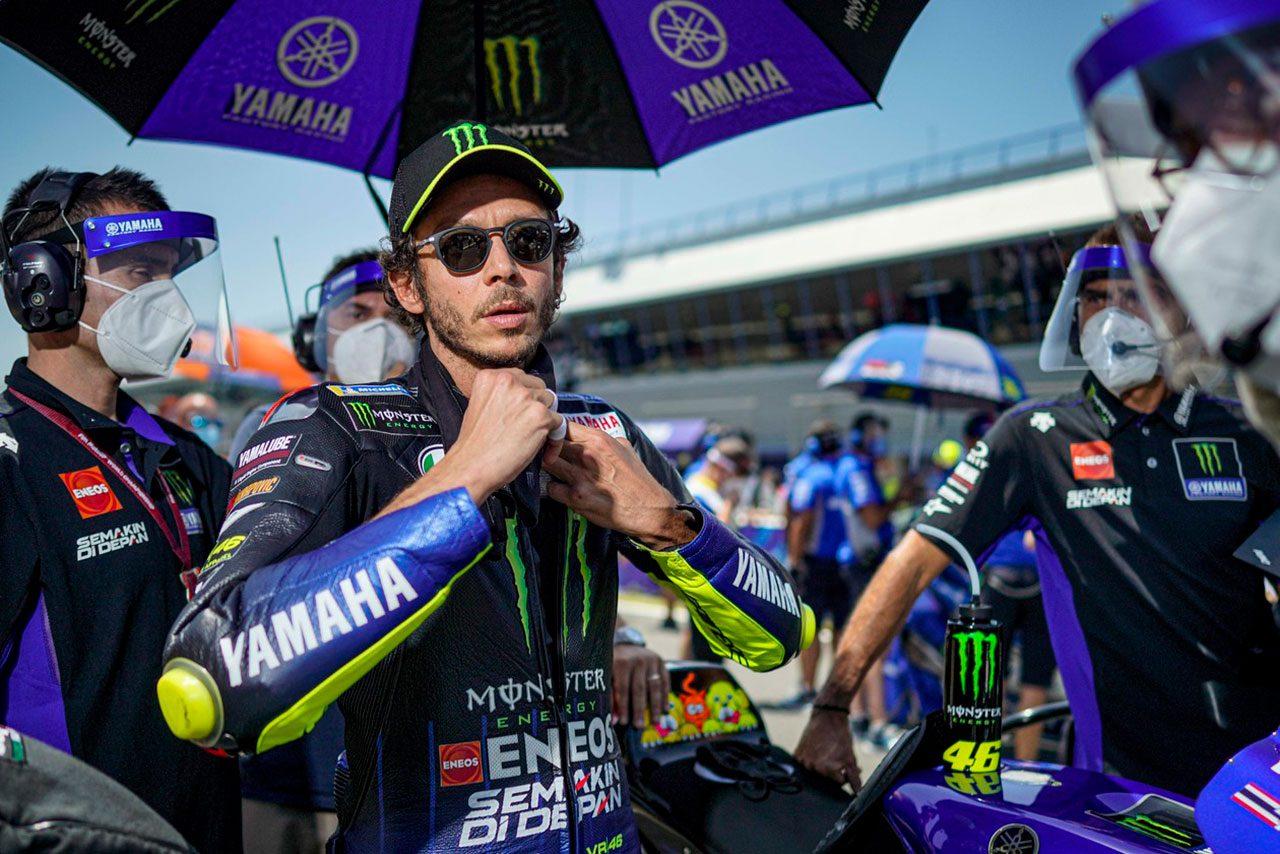 MotoGP:新型コロナに感染したバレンティーノ・ロッシ「欠場はとても残念。自己隔離をしていたから悲しいし怒りを覚える」