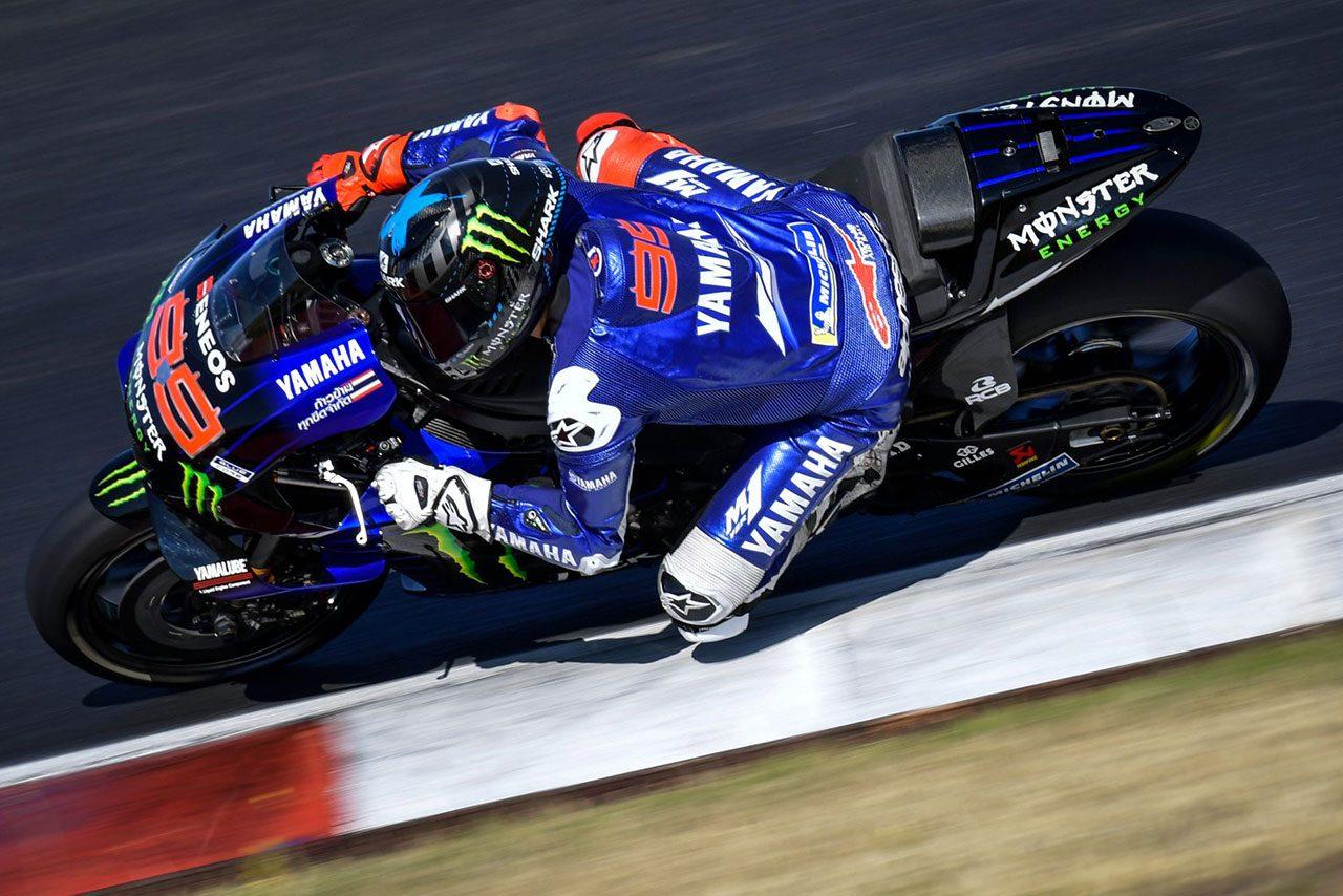 MotoGPポルティマオテスト:ホルヘ・ロレンソ(ヤマハ)
