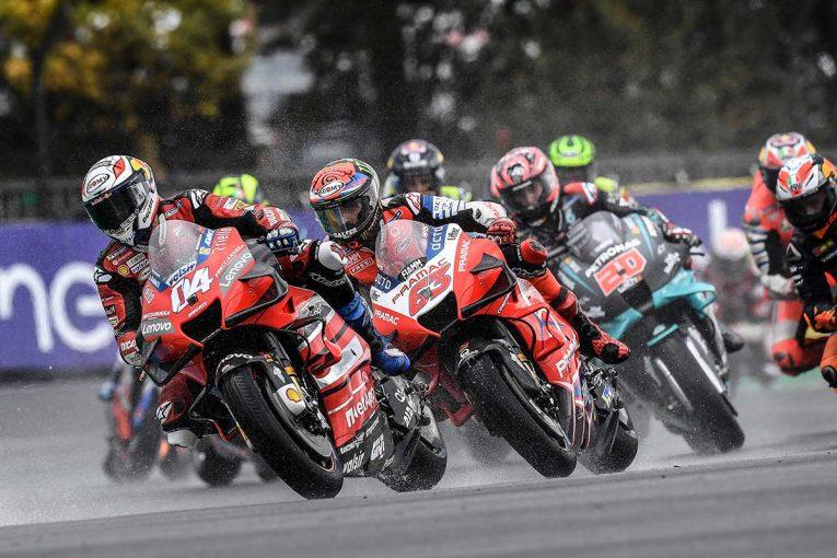 MotoGP | ウエットコンディション下でのタイヤ選択が明暗/MotoGP第10戦フランスGPレビュー(2)