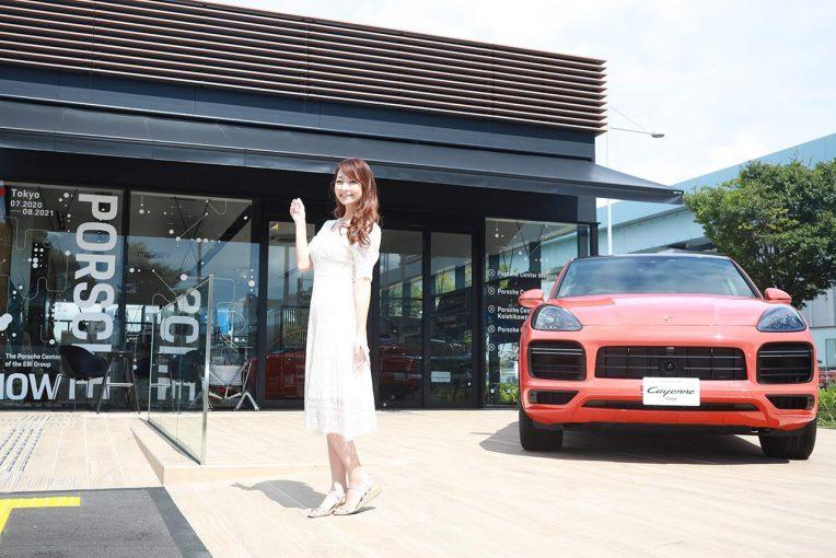 クルマ | 『Porsche NOW Tokyo』に元レースクイーンでレース参戦経験者の安藤麻貴が潜入レポート!噂のタイカンに迫る