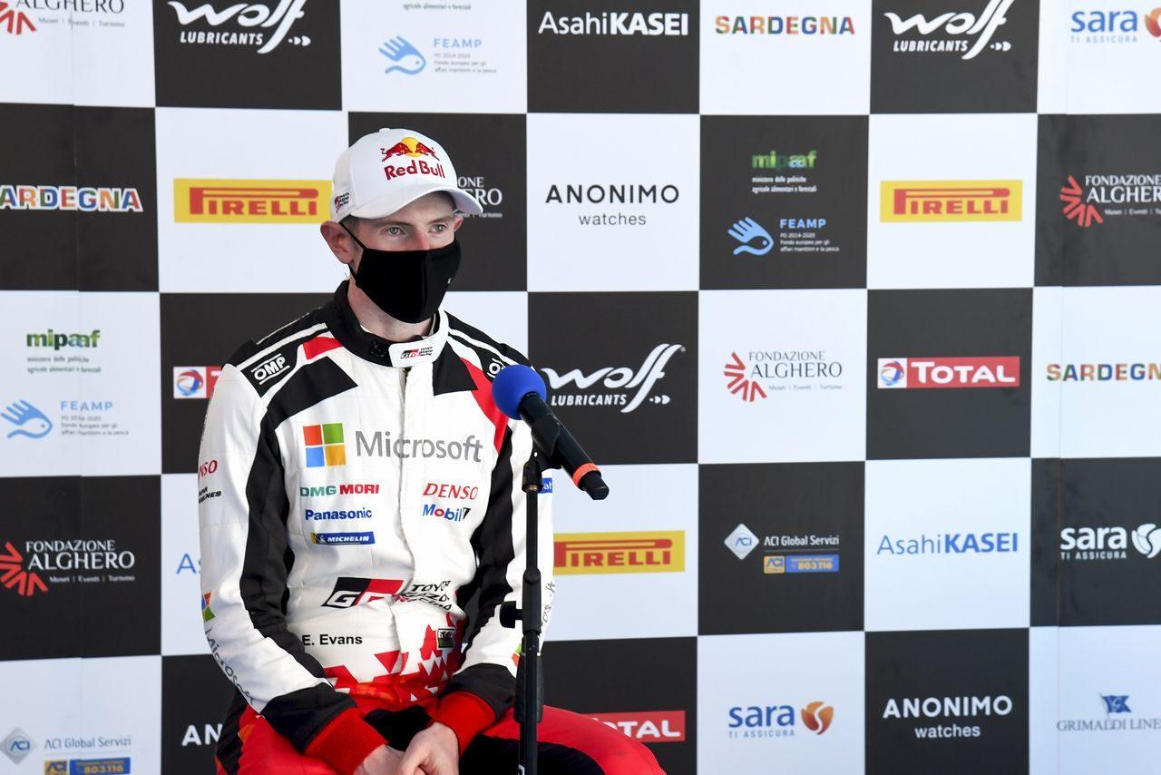 WRC:トヨタのエバンスに焦りなし。イタリアでの4位も「失望していない」