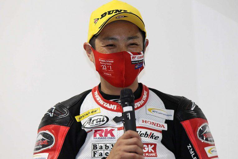 MotoGP   高橋裕紀「決勝はどんなコンディションになっても対応できるようにしたい」/全日本ロード第4戦もてぎ ポール会見