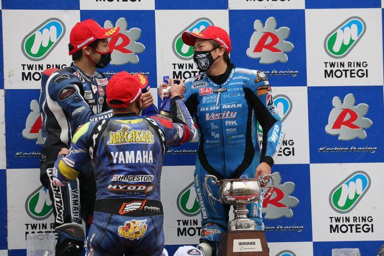 MotoGP   野左根が開幕5連勝でヤマハがワン・ツー。加賀山就臣は6年ぶりの表彰台/全日本ロード第4戦もてぎ JSB1000レース1