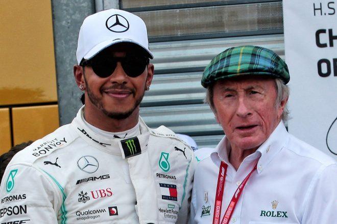 2019年F1モナコGP ルイス・ハミルトン(メルセデス)とジャッキー・スチュワート