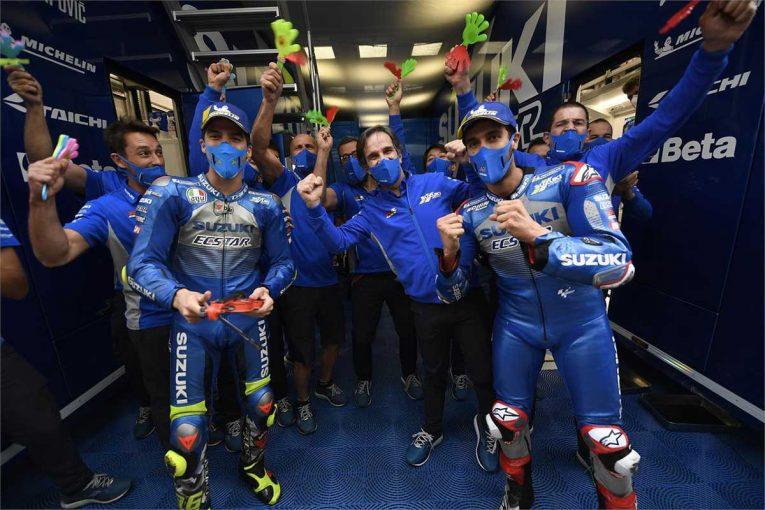 MotoGP | MotoGP:スズキ「最大の要因として一貫性が非常に重要だった」/2020年シーズン振り返り(3)