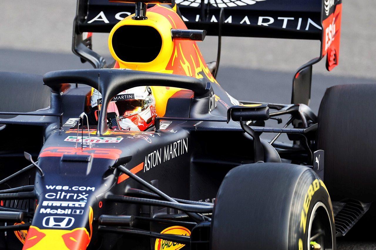 2020年F1第11戦アイフェルGP マックス・フェルスタッペンのレッドブルRB16・ホンダ