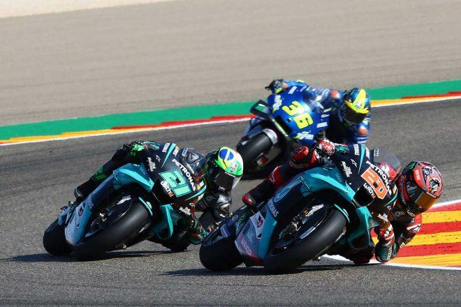 MotoGP   【レースフォーカス】ヤマハ不在の表彰台。中上貴晶のインディペンデントライダー、トップフィニッシュ/MotoGP第11戦