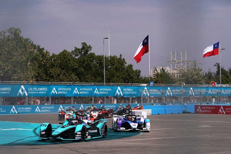 海外レース他   フォーミュラE:1月16~17日のチリ・サンティアゴE-Prixが延期に。代替日程を検討中