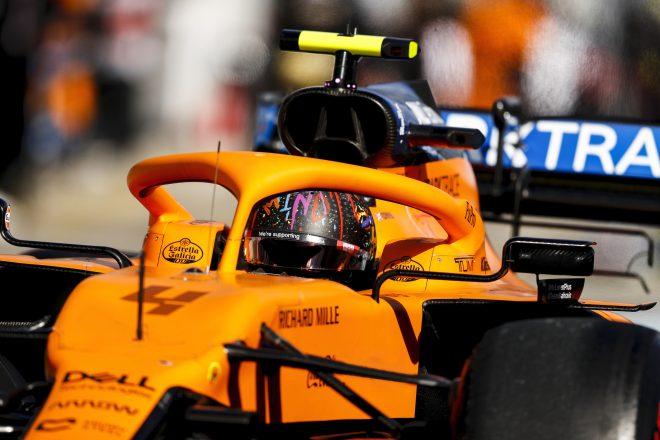 2020年F1第11戦アイフェルGP ランド・ノリス(マクラーレン)