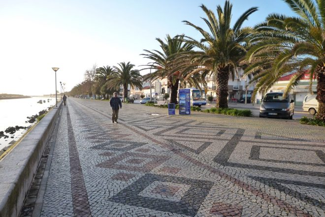 ポルトガル・ポルティマオの街の様子