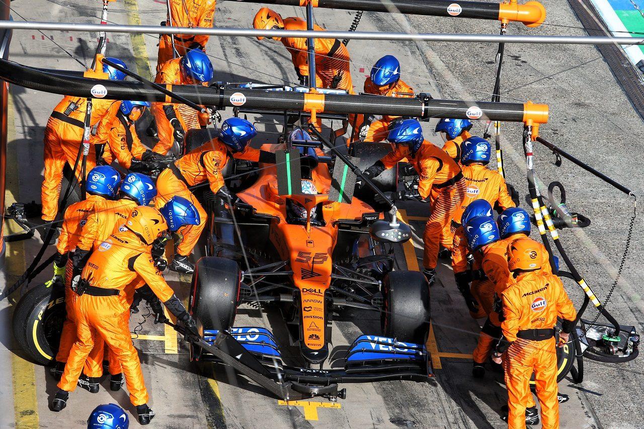 2020年F1第11戦アイフェルGP カルロス・サインツJr.(マクラーレン)