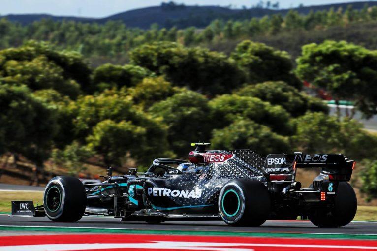F1 | F1ポルトガルGP FP2:赤旗2回でロングランもままならなず。ボッタスが首位、フェルスタッペン&ノリスが続く