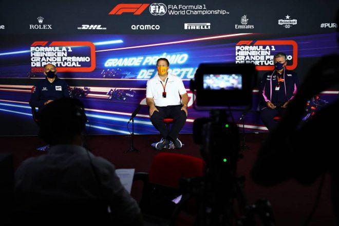2020年F1第12戦ポルトガルGP 金曜会見