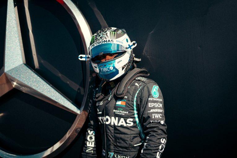 F1 | メルセデス、アイフェルGPでのボッタスのトラブルを受け、2台のPUエレメントを交換【F1第12戦金曜】
