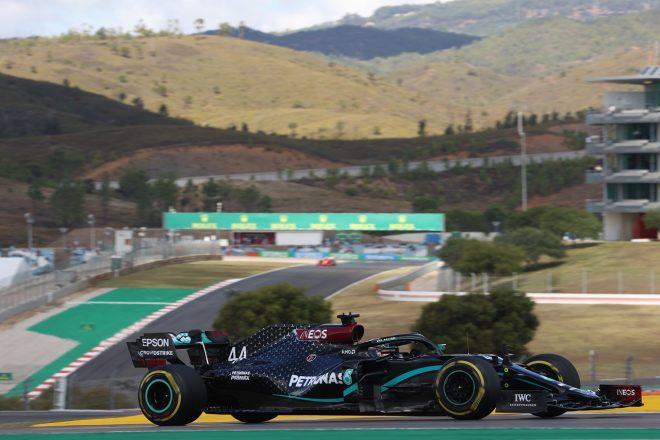 2020年F1第12戦ポルトガルGP ルイス・ハミルトン(メルセデス)