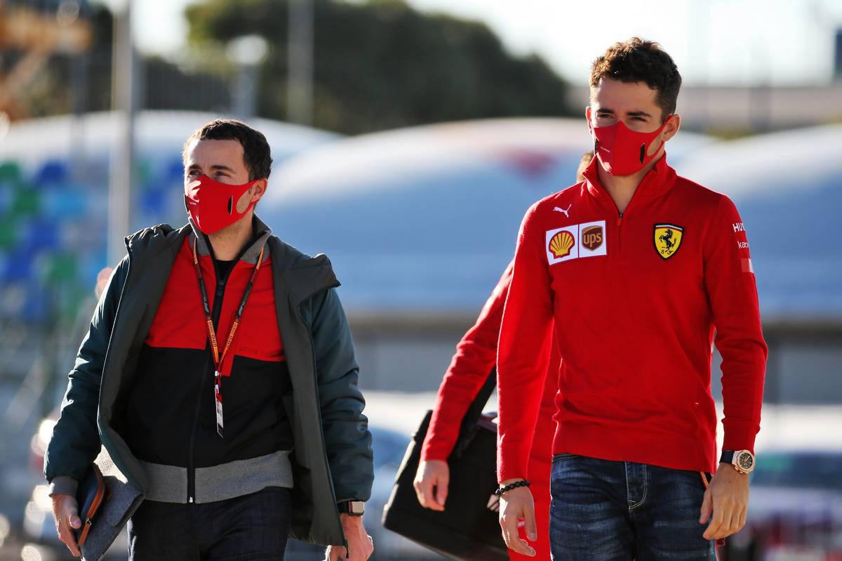 シャルル・ルクレール(フェラーリ)&ニコラ・トッド