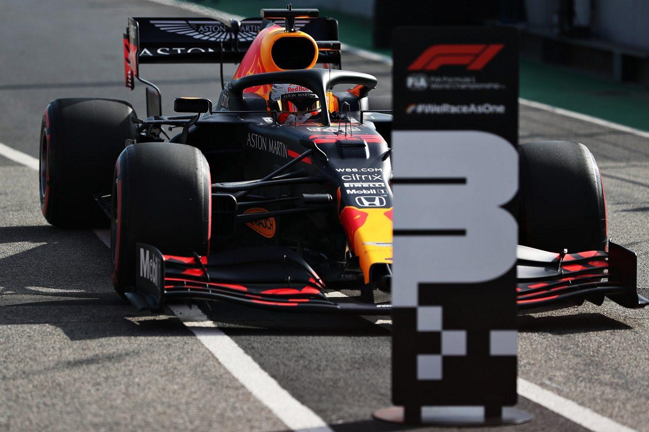 2020年F1第12戦ポルトガルGP マックス・フェルスタッペン(レッドブル・ホンダ)が予選3番手を獲得
