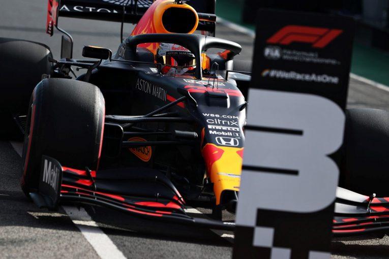 F1 | レッドブル代表「異例の予選で速さを発揮できた。メルセデス2台に割って入れなかったのは残念」【F1第12戦】