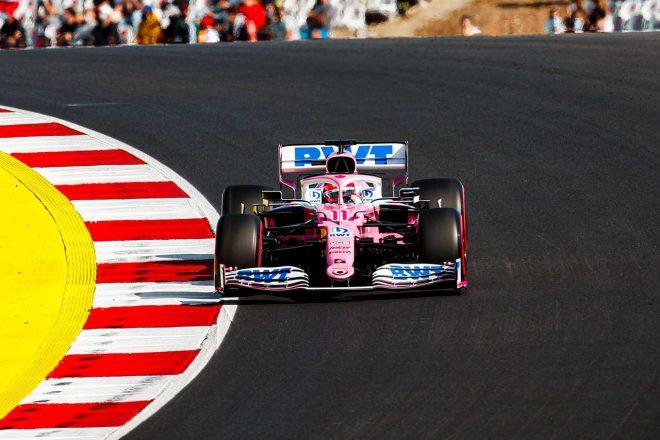 2020年F1第12戦ポルトガルGP セルジオ・ペレス(レーシングポイント)