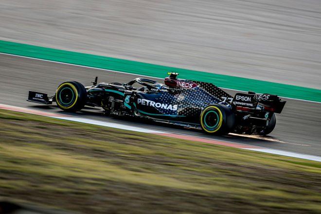 2020年F1第12戦ポルトガルGP バルテリ・ボッタス(メルセデス)