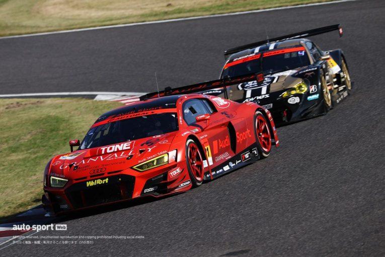 スーパーGT | ピットタイミングが明暗を分けた鈴鹿決戦。Hitotsuyama Audi R8 LMSが今シーズン初優勝【第6戦鈴鹿GT300決勝】