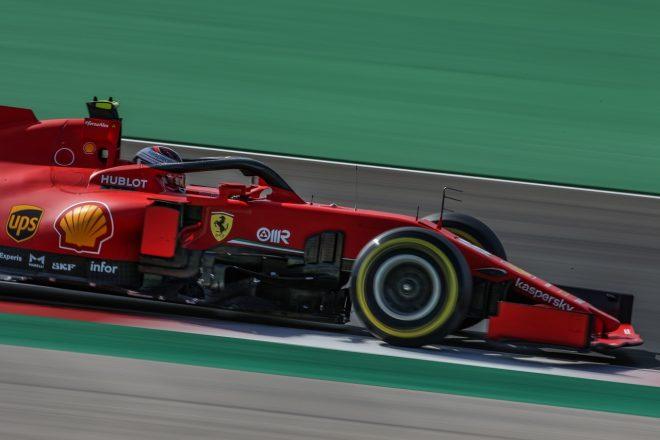 2020年F1第12戦ポルトガルGP シャルル・ルクレール(フェラーリ)