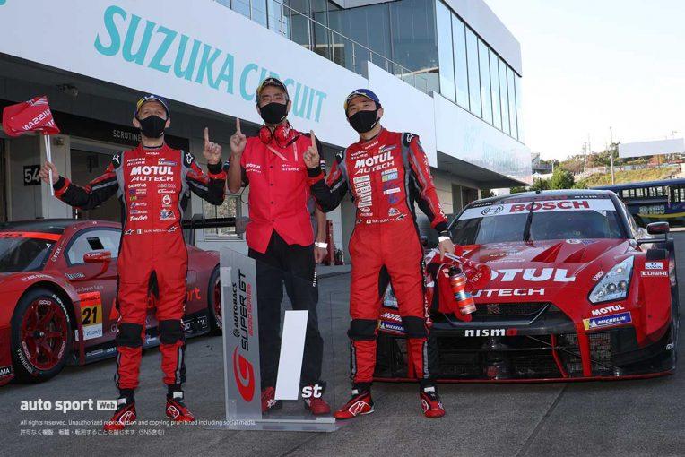 スーパーGT | 最多勝記録更新の松田「絶対にこの鈴鹿を勝たなければいけない気持ちが強かった」【第6戦鈴鹿GT500優勝会見】