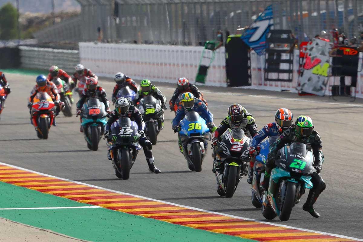 2020年MotoGP第12戦テルエルGP