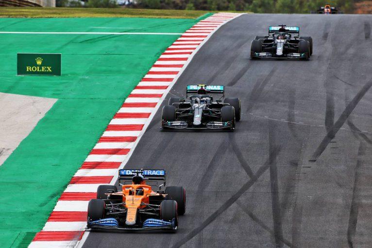 F1 | サインツ6位「好みのコンディションでトップを走れて楽しかった」マクラーレン【F1第12戦決勝】