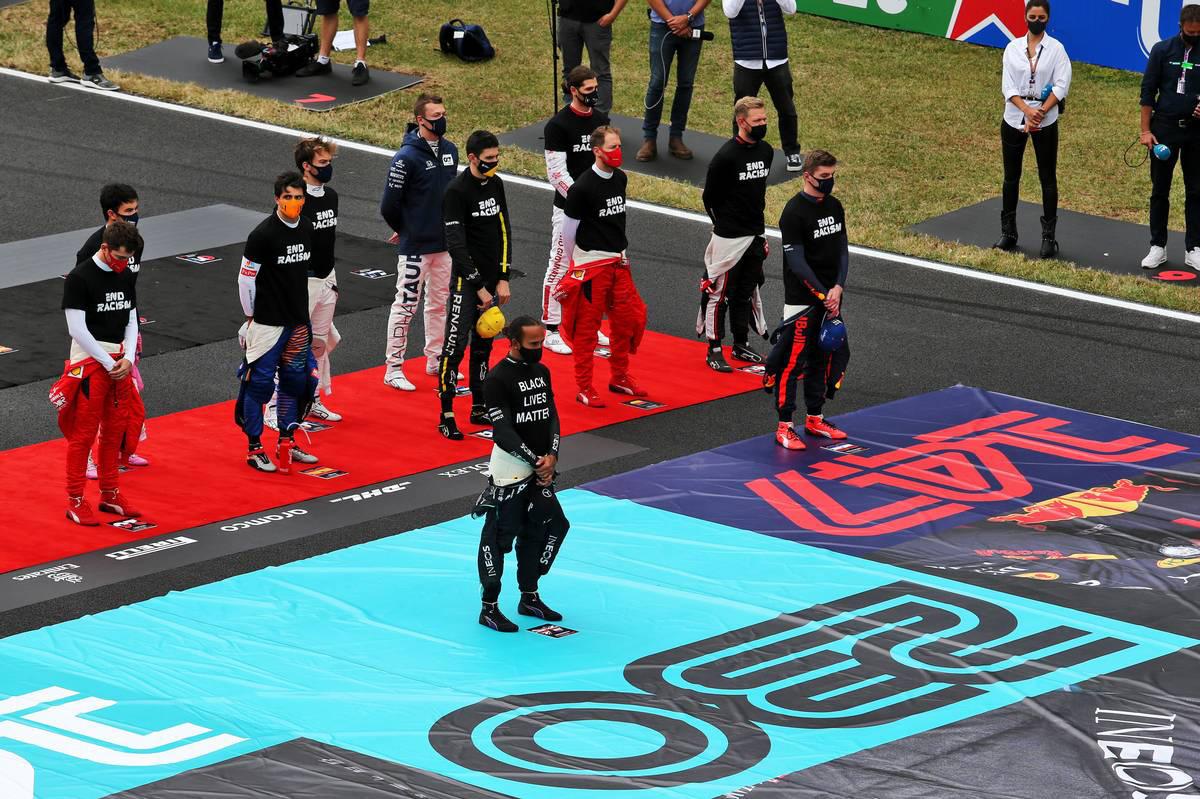 2020年F1第12戦ポルトガルGP 国家斉唱
