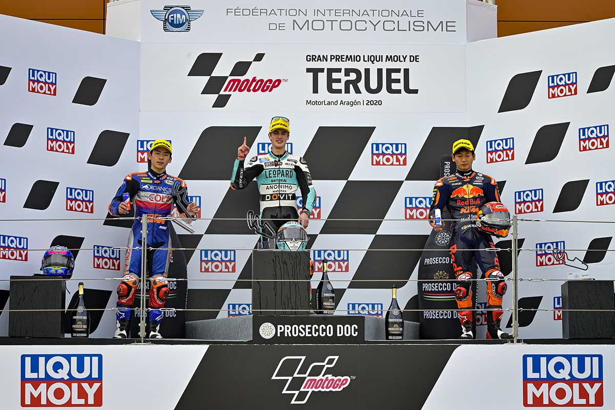 MotoGP第12戦テルエルGP Moto3クラス決勝レース