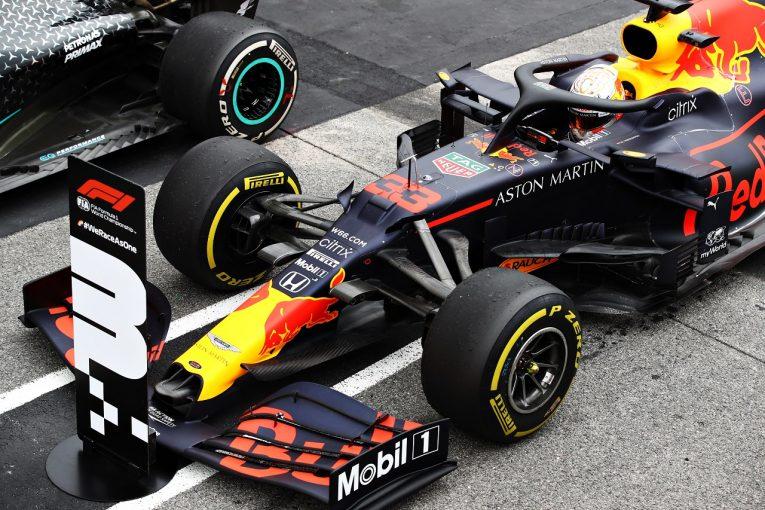 F1 | ホンダが11戦連続表彰台、2019年の登壇回数に並ぶ「タイヤをうまく管理した2人がトップ5の好結果」と田辺TD【F1第12戦決勝】