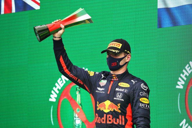 2020年F1第12戦ポルトガルGP マックス・フェルスタッペン(レッドブル・ホンダ)が3位を獲得
