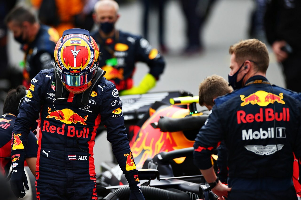 2020年F1第12戦ポルトガルGP アレクサンダー・アルボン(レッドブル・ホンダ)