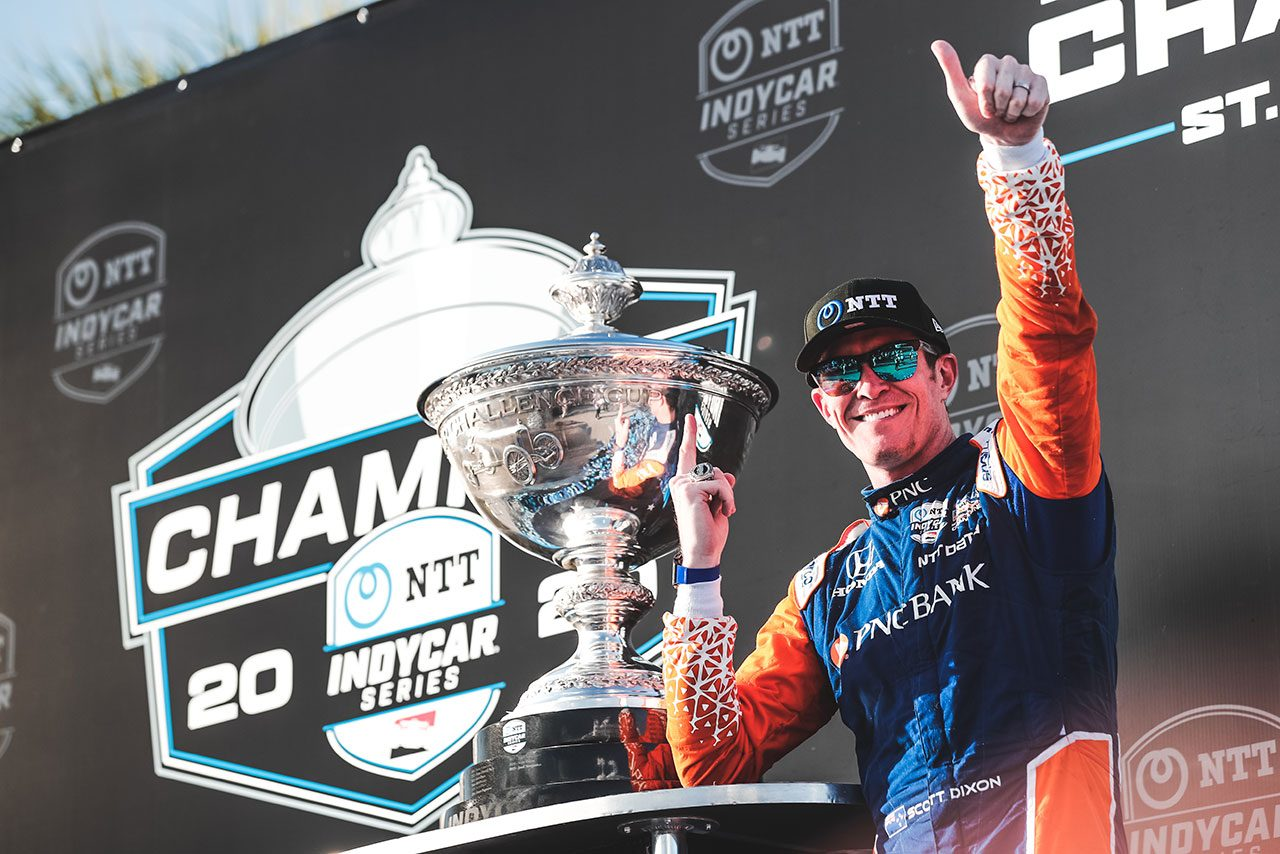 インディカー最終戦詳報:ディクソンが6度目のシリーズチャンピオン獲得。琢磨は自己最高ランキングを更新