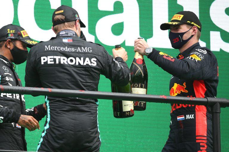 F1 | レッドブル代表「マックスはタイヤに苦労しつつも40回目の表彰台を獲得。クルーの作業も見事だった」【F1第12戦】