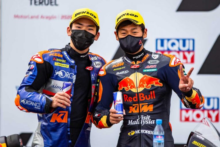MotoGP | 激戦のMoto3で待望の表彰台を掴み取った佐々木歩夢と鳥羽海渡/MotoGP第12戦テルエルGPレビュー(2)