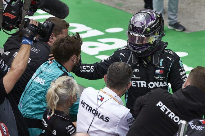 2020年F1第12戦ポルトガルGP ルイス・ハミルトン(メルセデス)が史上最多92勝を達成