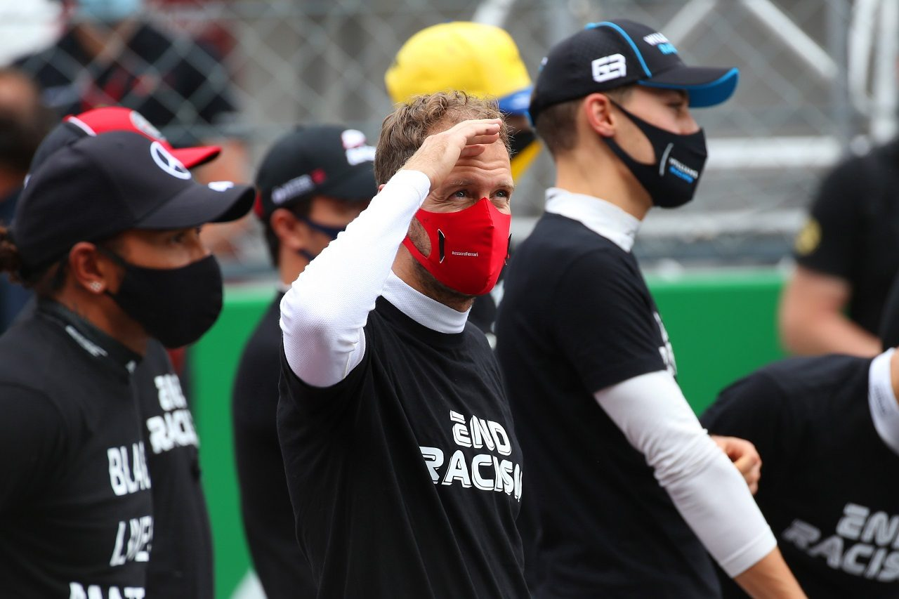 2020年F1第12戦ポルトガルGP セバスチャン・ベッテル(フェラーリ)