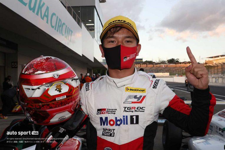 国内レース他 | FIA-F4:平良響が3連勝で鈴鹿大会を完全制覇。ランキングトップを不動のものに