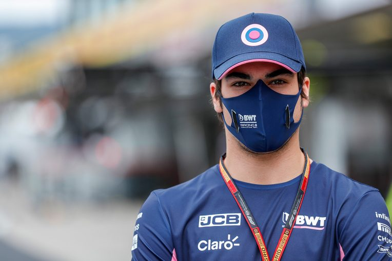 F1   ストロール「接触でダメージがあり、リタイアするしかなかった」:レーシングポイント F1第12戦決勝