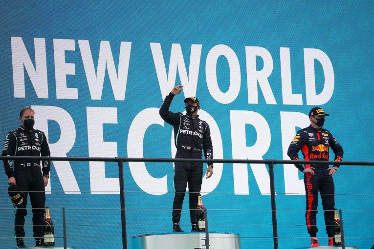 F1 | 【SNS特集】F1ポルトガルGP:92勝の喜びを家族と分かちあうハミルトン。ライコネンの目の覚めるようなスタート