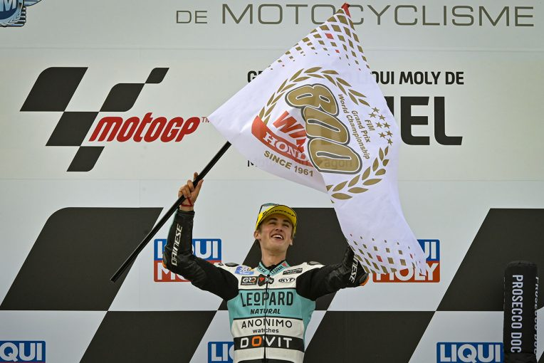 MotoGP   MotoGP:1960年にロードレース世界選手権に初参戦したホンダ、前人未到の通算800勝を達成
