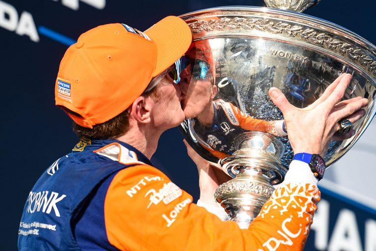 海外レース他 | インディカー6度目チャンピオンに輝いたディクソン。御大AJ.フォイトの記録である7回に並ぶのは「次の目標」