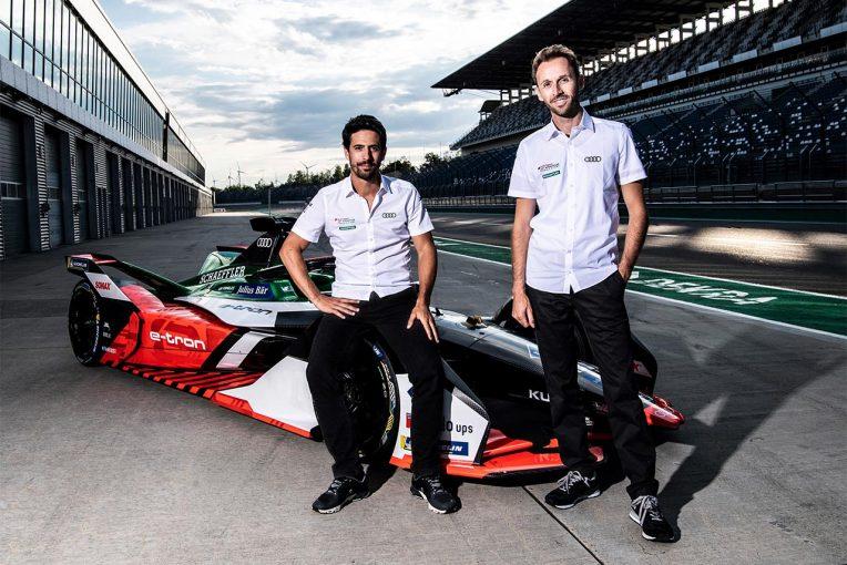 海外レース他 | フォーミュラE:アウディがシーズン7に向けディ・グラッシとラストの起用を発表