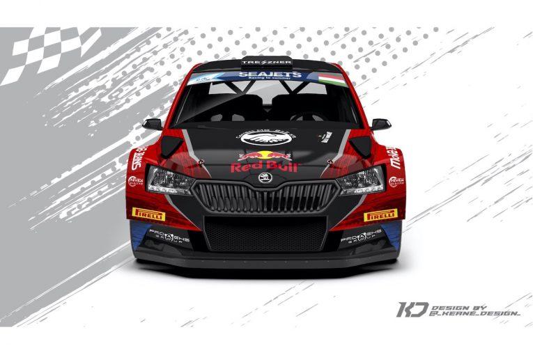 ラリー/WRC   ERC:アンドレアス・ミケルセンが限定復帰。シュコダ・ファビア・ラリー2エボをドライブへ