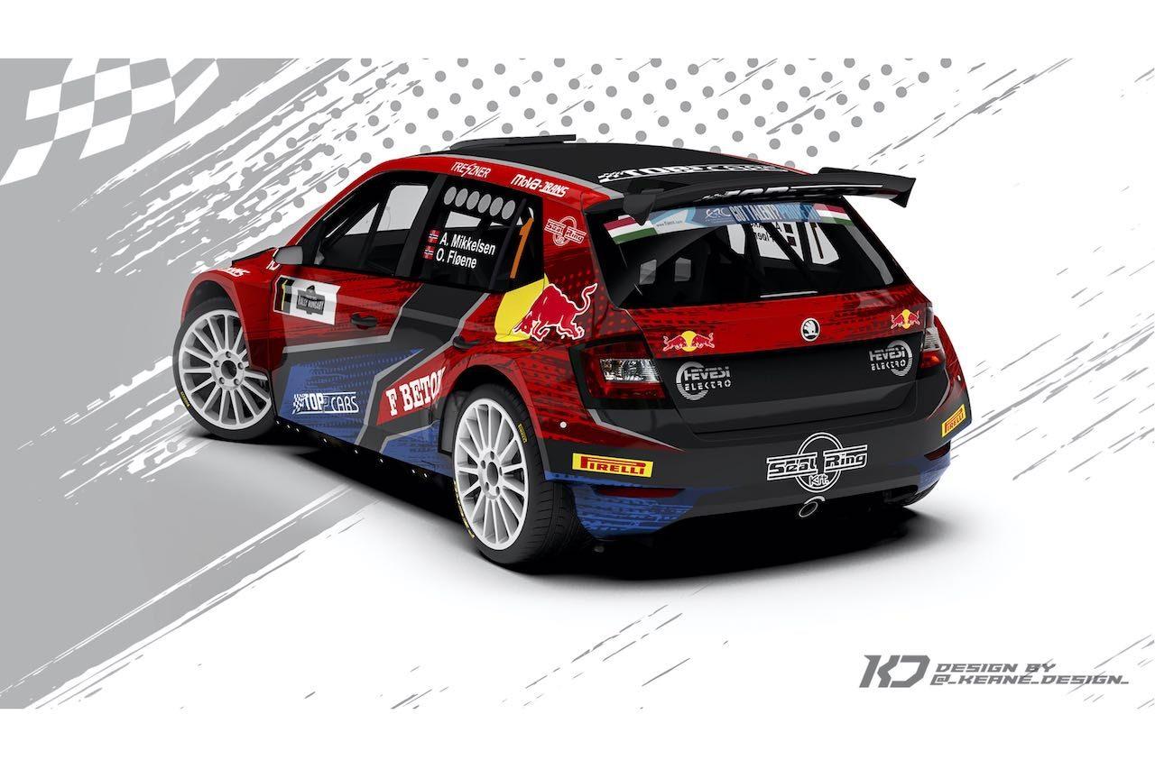 ERC:アンドレアス・ミケルセンが限定復帰。シュコダ・ファビアRally2 Evoをドライブ